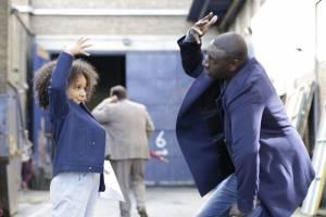 Gloria Colston (Gloria) en Omar Sy (Samuel)