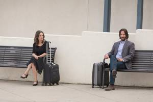 Destination Wedding: Winona Ryder (Lindsay) en Keanu Reeves (Frank)