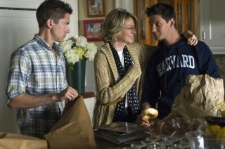 Topher Grace, Diane Keaton en Ben Barnes in The Big Wedding