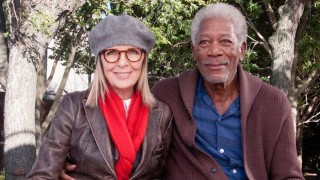 Morgan Freeman en Diane Keaton in Ruth & Alex