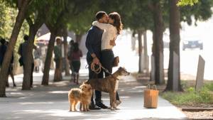 Dog Days: Tone Bell (Jimmy) en Vanessa Hudgens (Tara)