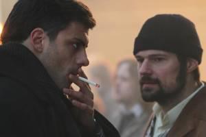 Milan Maric (Sergei Dovlatov) en Danil Kozlovsky (David)
