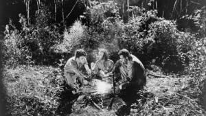 Tom Waits (Zack), Roberto Benigni (Roberto) en John Lurie (Jack)