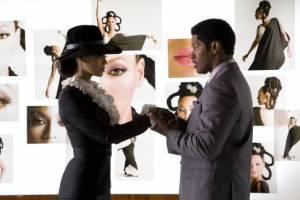 Beyoncé Knowles en Jamie Foxx in Dreamgirls