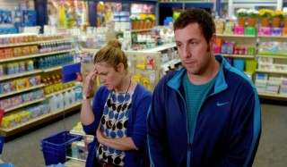 Drew Barrymore en Adam Sandler in Blended