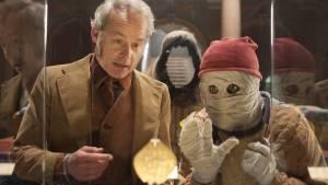 Dummie de Mummie en de Sfinx van Shakaba: Marcel Hensema (Meester Krabbel) en Yahya Gaier (Dummie)