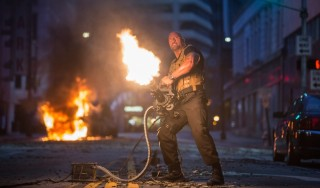 Dwayne Johnson in Fast & Furious 7