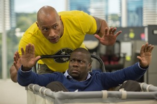 Dwayne Johnson en Kevin Hart in Central Intelligence