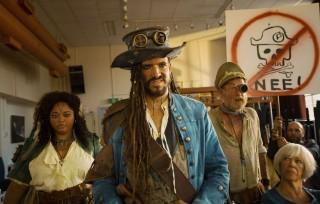 Egbert Jan Weeber in De Piraten van Hiernaast