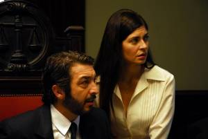 Ricardo Darín (Benjamín Esposito) en Soledad Villamil (Irene Menéndez Hastings)