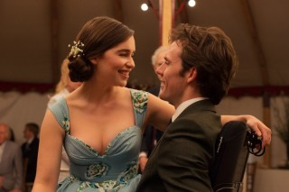 Emilia Clarke en Sam Claflin in Me Before You