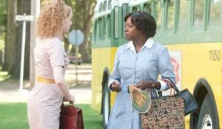 Emma Stone en Viola Davis in The Help