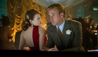 Emma Stone en Ryan Gosling in Gangster Squad