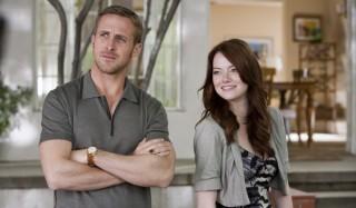 Ryan Gosling en Emma Stone in Crazy, Stupid, Love.