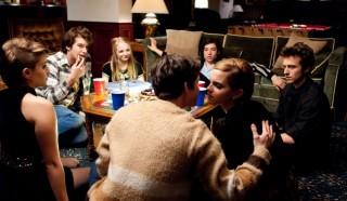 Logan Lerman en Emma Watson in The Perks of Being a Wallflower