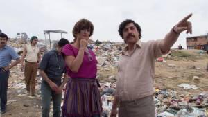 Escobar: Penélope Cruz (Virginia Vallejo) en Javier Bardem (Pablo Escobar)