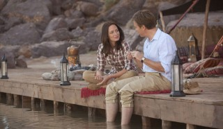 Emily Blunt en Ewan McGregor in Salmon Fishing in the Yemen