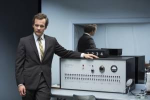 Experimenter: Peter Sarsgaard (Stanley Milgram)