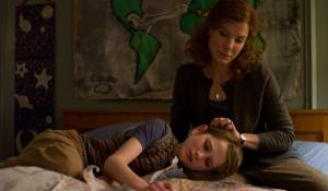 Extremely Loud and Incredibly Close: Thomas Horn (Oskar Schell) en Sandra Bullock (Oskar's Mother)