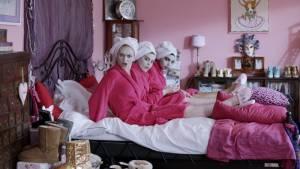 Fashion Chicks: Pip Pellens (Tiffany), Melody Raymann (Mercedes) en Liza Sips (Esmee / Lizzy)
