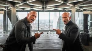 Fast & Furious: Hobbs & Shaw 3D: Dwayne Johnson (Hobbs) en Jason Statham (Shaw)