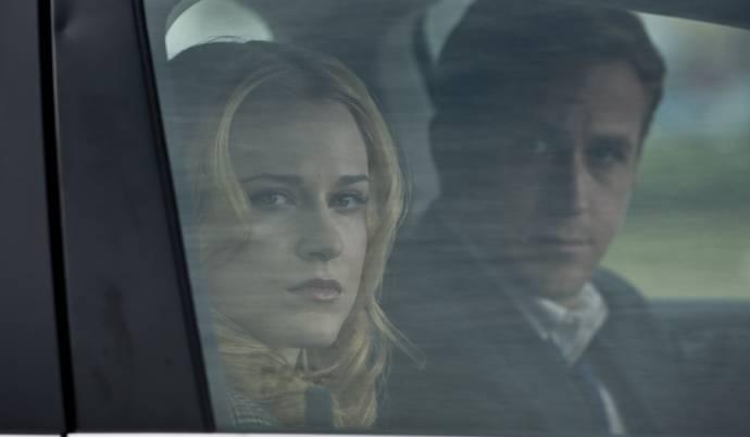 Evan Rachel Wood (Molly Stearns) en Ryan Gosling (Stephen Myers)