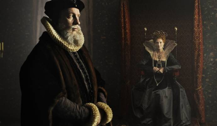 David Thewlis (William Cecil) en Joely Richardson (Young Queen Elizabeth I)