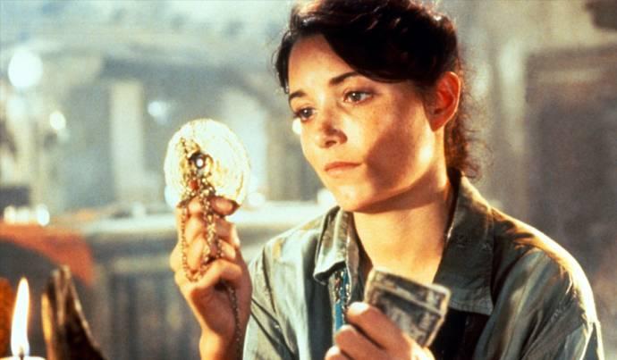 Karen Allen (Marion Ravenwood) in Raiders of the Lost Ark
