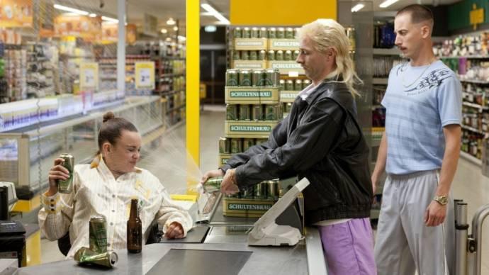 Huub Smit (Richard Batsbak) en Wesley van Gaalen (Rikkert Biemans)