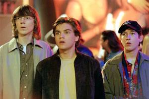 Paul Dano (Klitz), Emile Hirsch (Matthew Kidman) en Chris Marquette (Eli)
