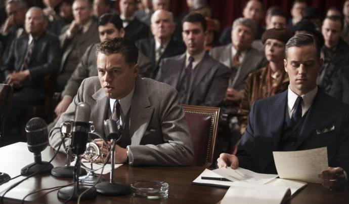 Leonardo DiCaprio (J. Edgar Hoover) en Armie Hammer (Clyde Tolson)