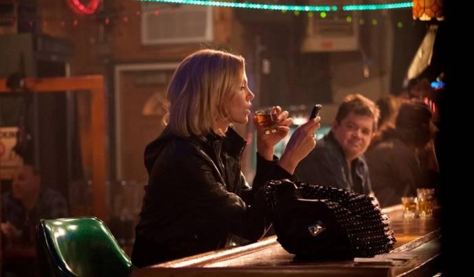 Charlize Theron (Mavis Gary) en Patton Oswalt (Matt Freehauf)
