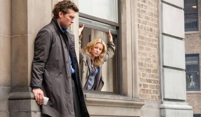 Sam Worthington (Nick Cassidy) en Elizabeth Banks (Lydia Anderson)