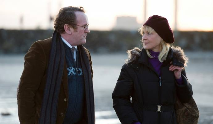Colm Meaney (Fred Daly) en Milka Ahlroth (Juliana)