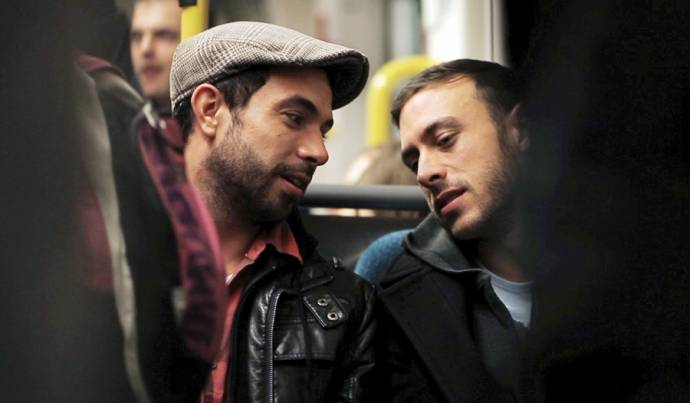 Tom Cullen (Russell) en Chris New (Glen)