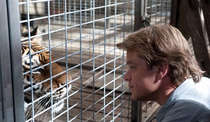 Matt Damon (Benjamin Mee) in We Bought a Zoo