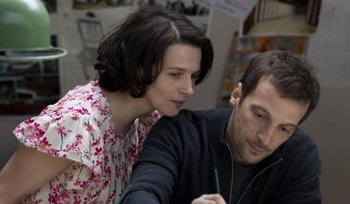 Juliette Binoche (Marie Speranski) en Mathieu Kassovitz (Paul Speranski)