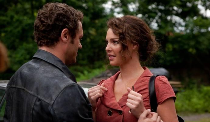 Jason O'Mara (Joe Morelli) en Katherine Heigl (Stephanie Plum)