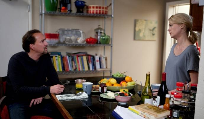 Nicolas Cage (Will Gerard) en January Jones (I) (Laura Gerard)