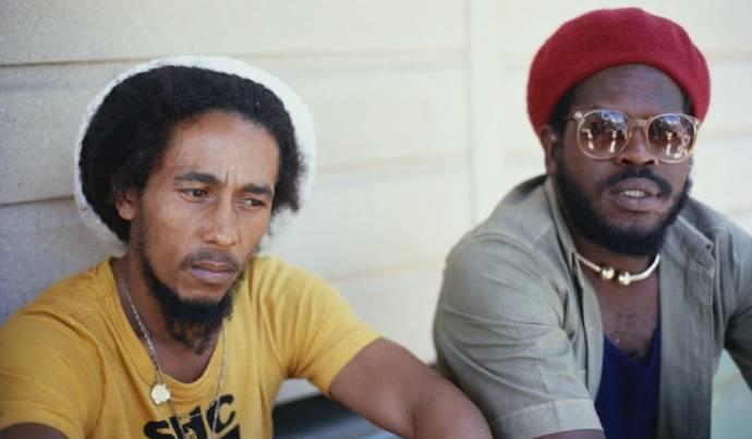Bob Marley (Zichzelf (archive footage)) en Aston Barrett (Zichzelf (as Aston Family Man Barrett))