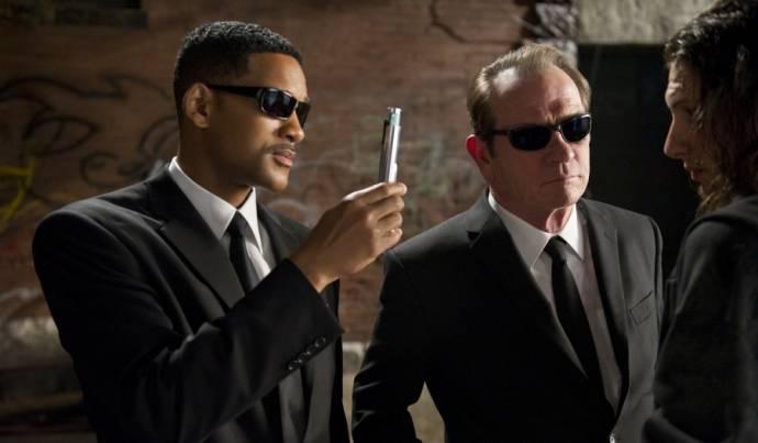 Will Smith (Agent J) en Tommy Lee Jones (Agent K)