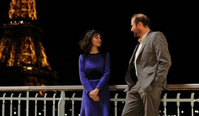 Audrey Tautou (Nathalie) en François Damiens (Markus)
