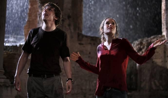 Jesse Eisenberg (Jack) en Ellen Page (Monica)