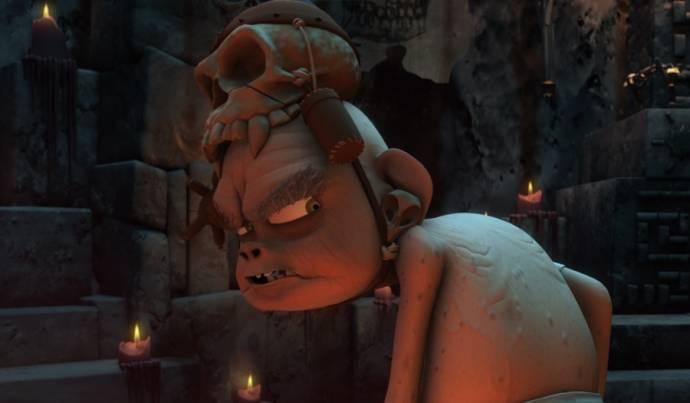 Ronal The Barbarian 3D filmstill