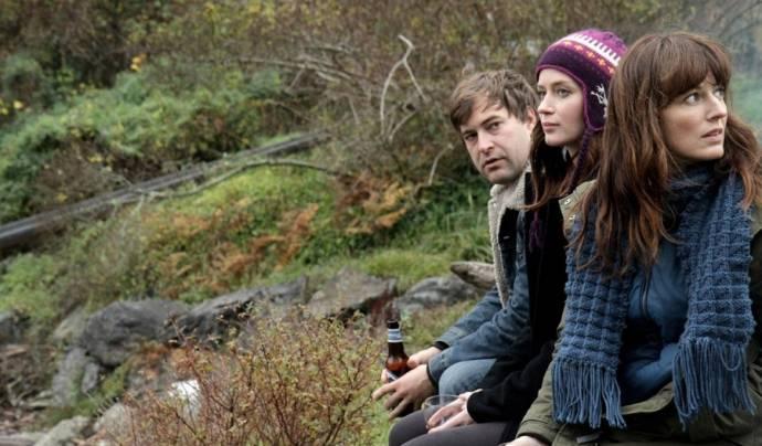 Mark Duplass (Jack), Emily Blunt (Iris) en Rosemarie DeWitt (Hannah)