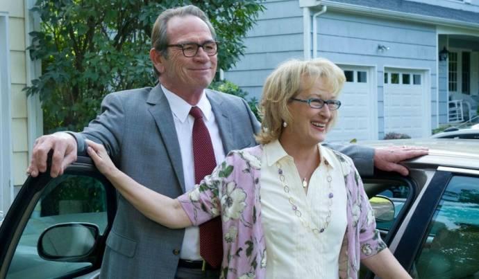 Tommy Lee Jones (Arnold Soames) en Meryl Streep (Maeve Soames)