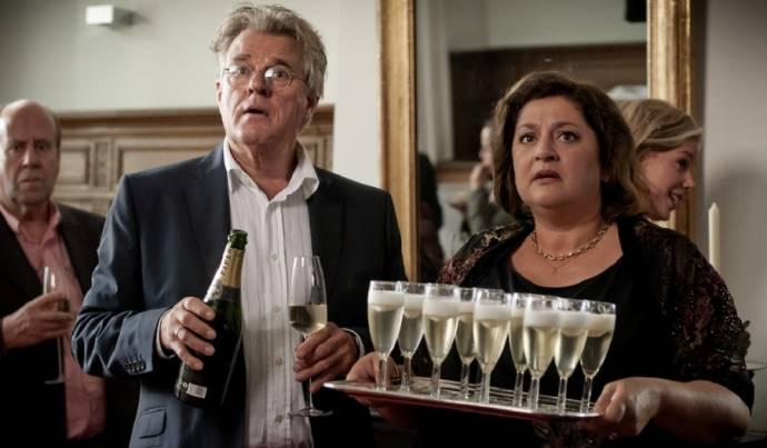 Jeroen Krabbé (Bram Samuels) en Annet Malherbe (Judith Samuels)