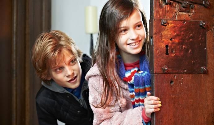 Julian Ras (Mees) en Laura van Bussel (Katja)
