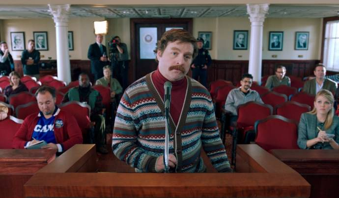 Zach Galifianakis (Marty Huggins)