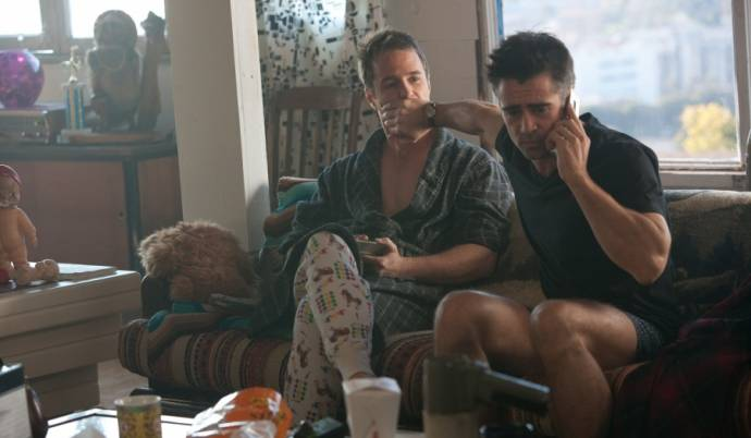 Sam Rockwell (Billy) en Colin Farrell (Marty)